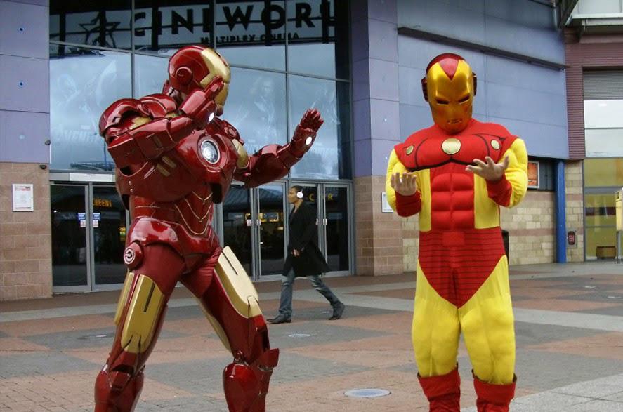 Cosplay: il primo costume