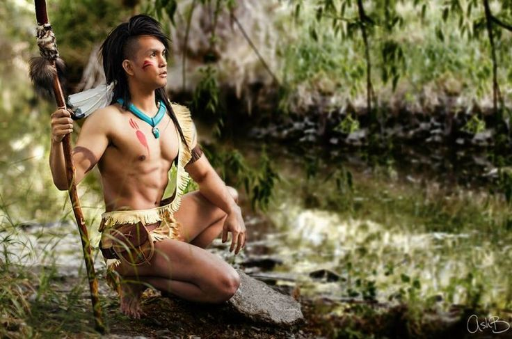 Junker gender bender Pocahontas
