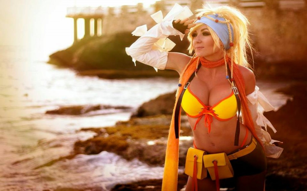 Jessica Nigri cosplay Rikku Final Fantasy X