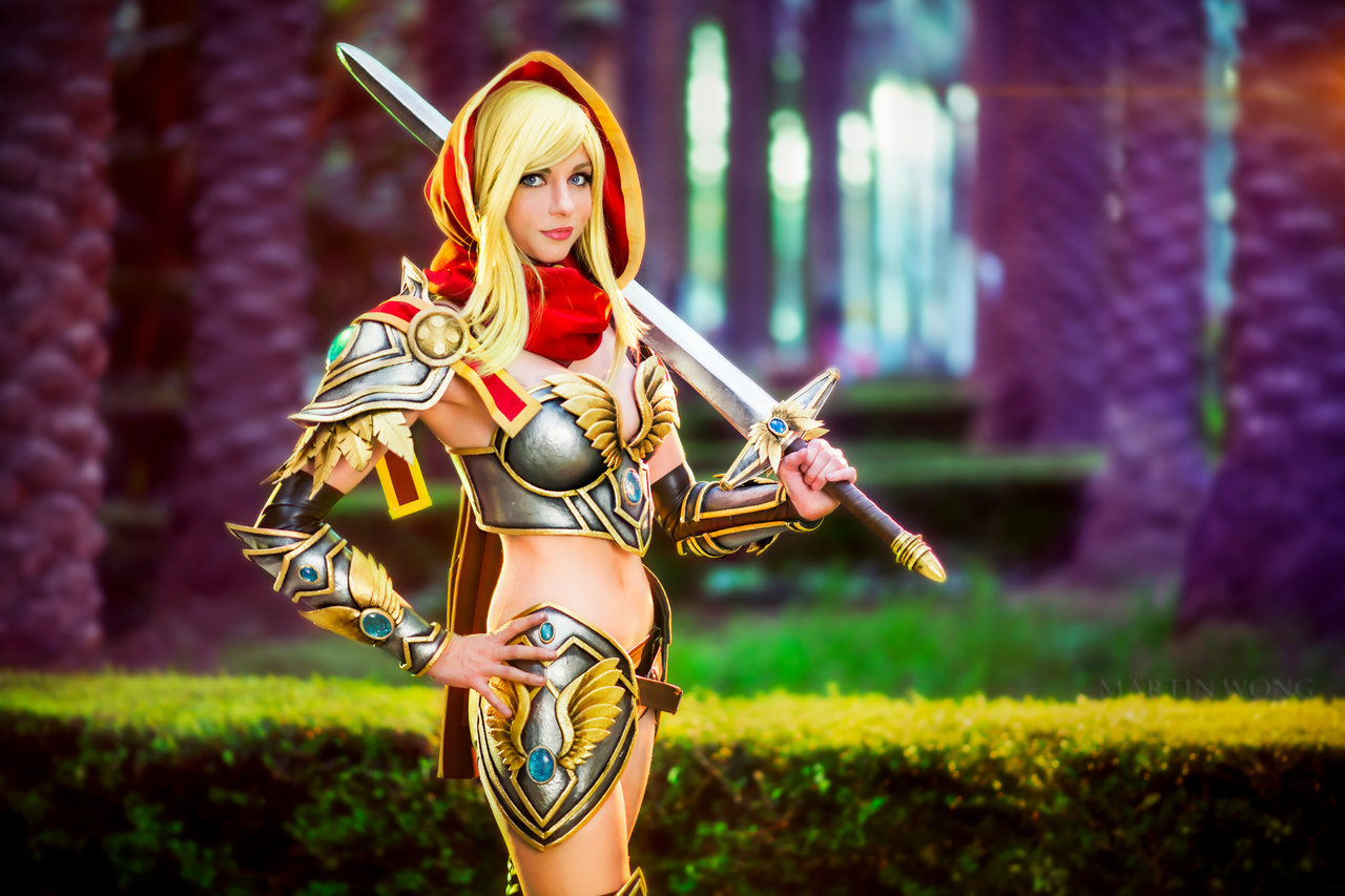 Andy Rae Paladin World of Warcraft