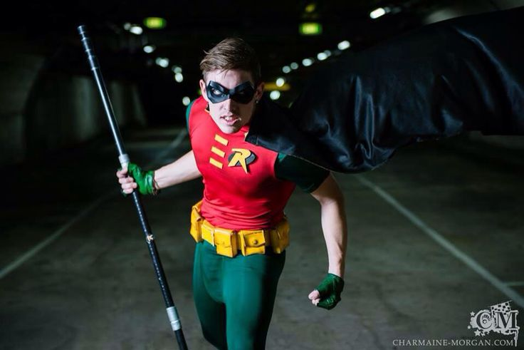 Batman Robin Something Wicked Cosplay