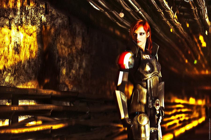 Anna Ormeli - Comandante Shepard - Mass Effect cosplay