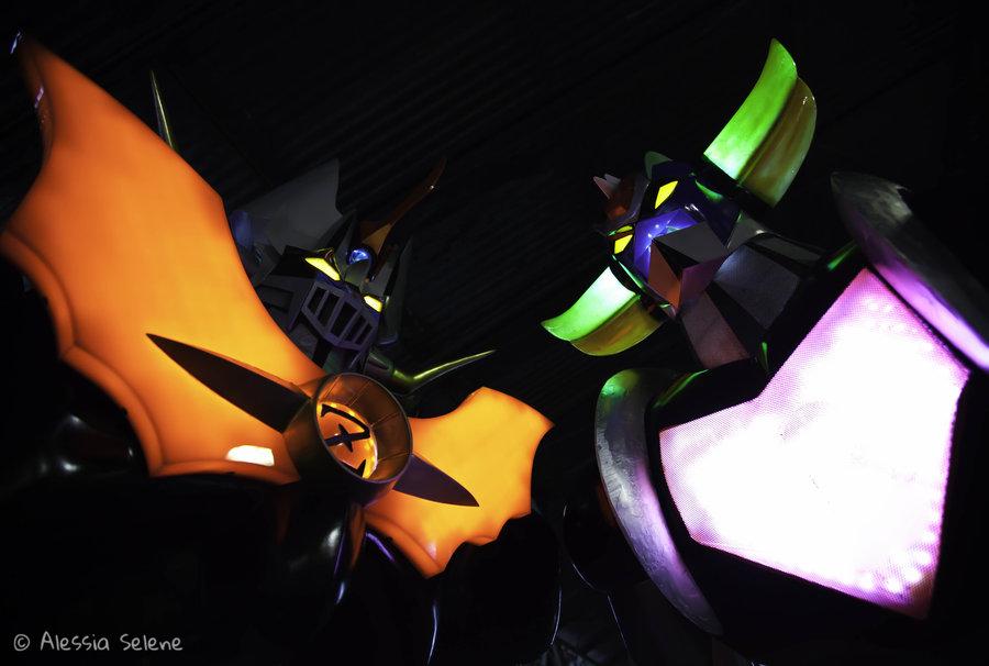 Mazinkaiser e Ufo Robot Grendizer