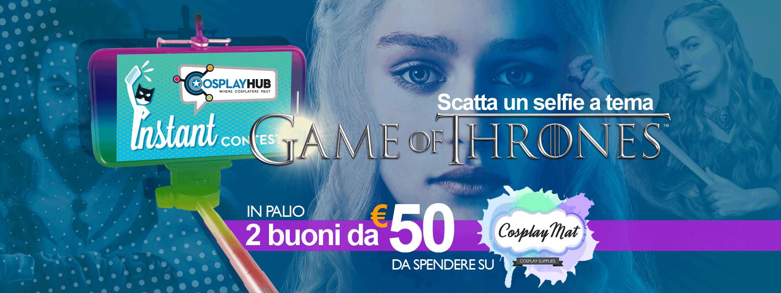 Game of Thrones Instant Contest: i vincitori