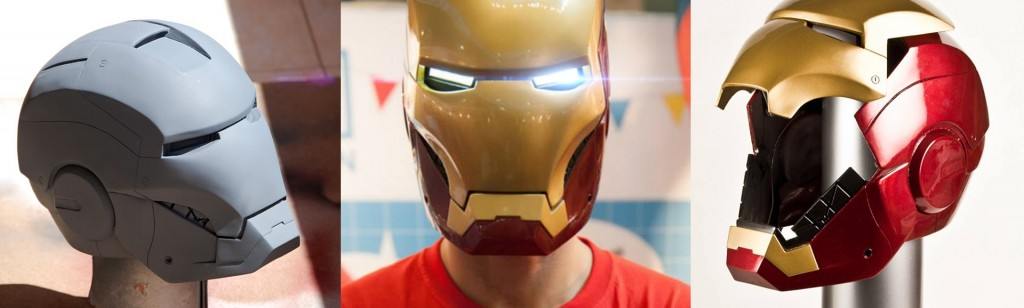 Iron-Man-helmets