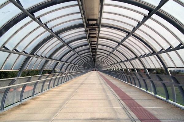 tunnel fiera romics