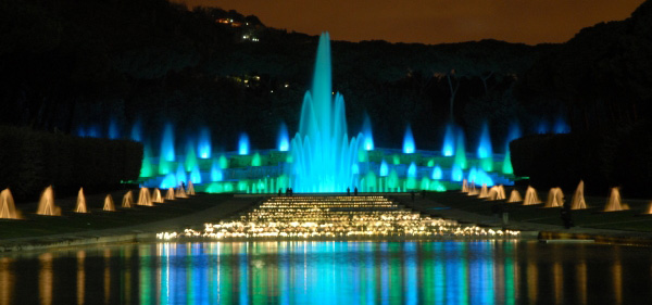 Fontana dell'Esedra Napoli