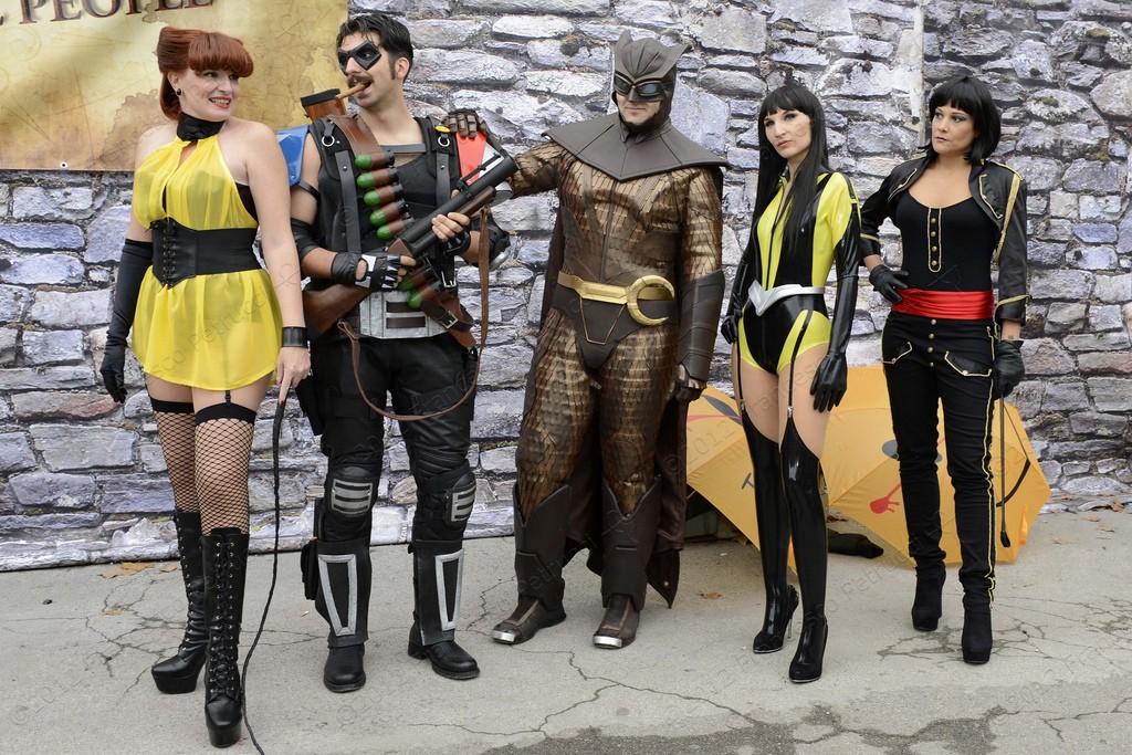 Gruppo Watchmen cosplay