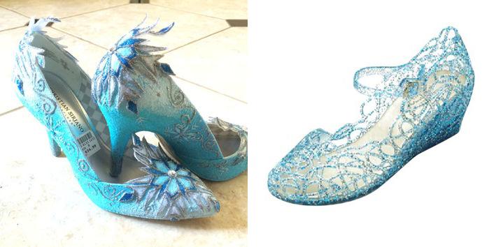 Frozen Elsa scarpe