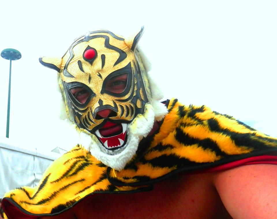 tiger mask tessuti cosplay