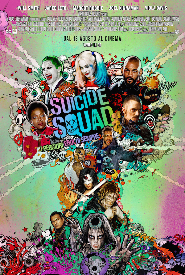 È uscito il poster ufficiale di Suicide Squad