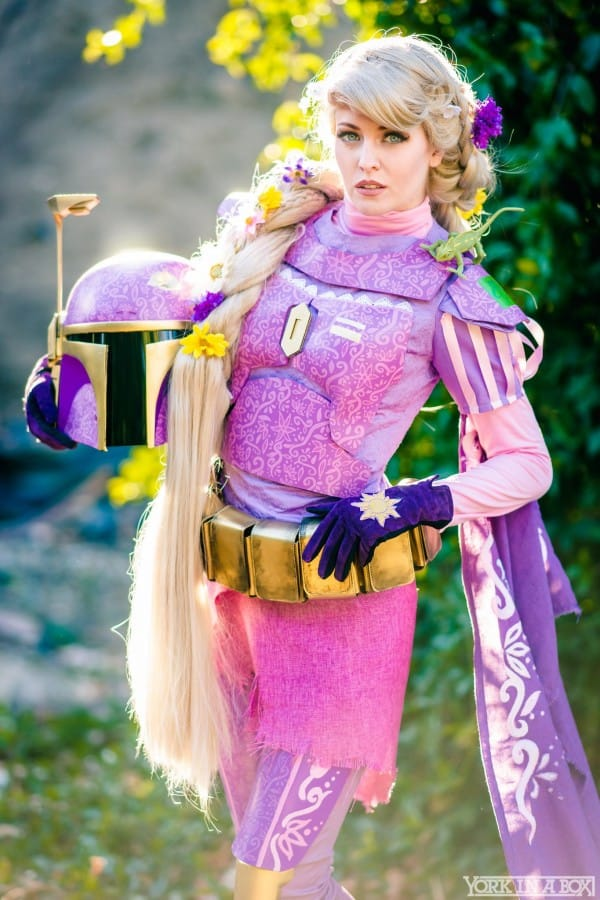 Rapunzel Maid of Might Cosplay