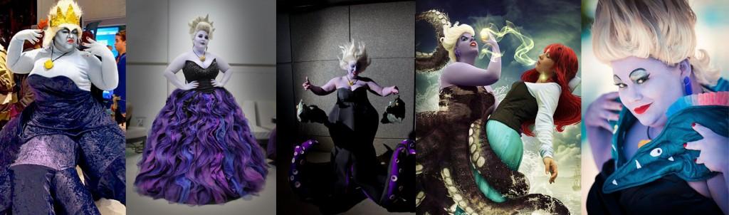 ursula sirenetta cosplay curvy