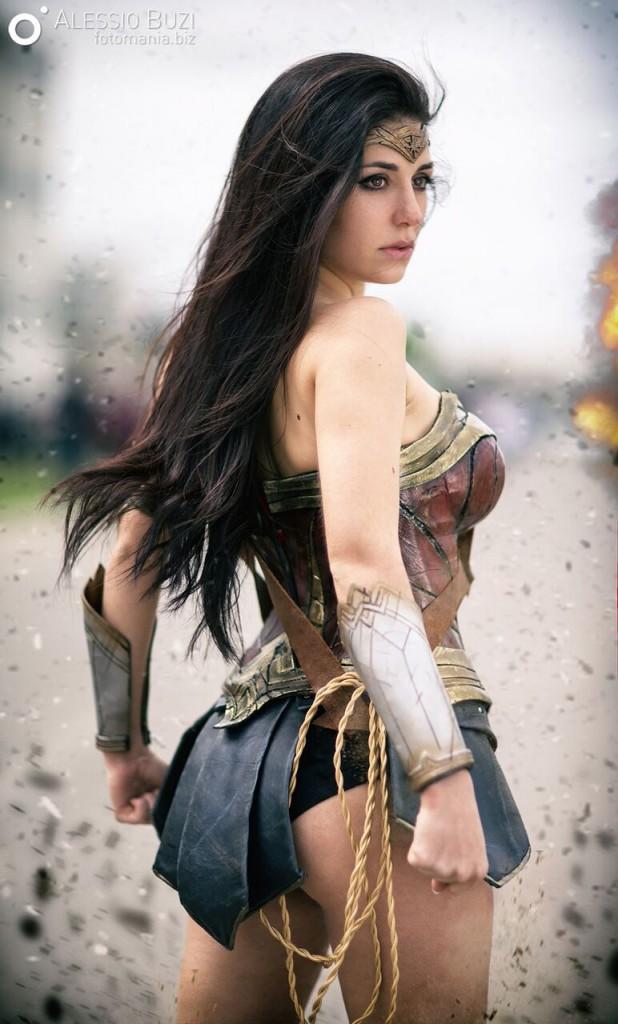 Ambra Wonder Woman by Alessio Buzi