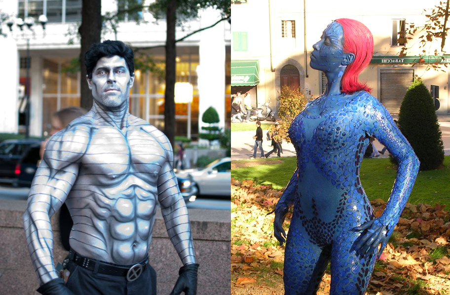 Cosplay-body-painting