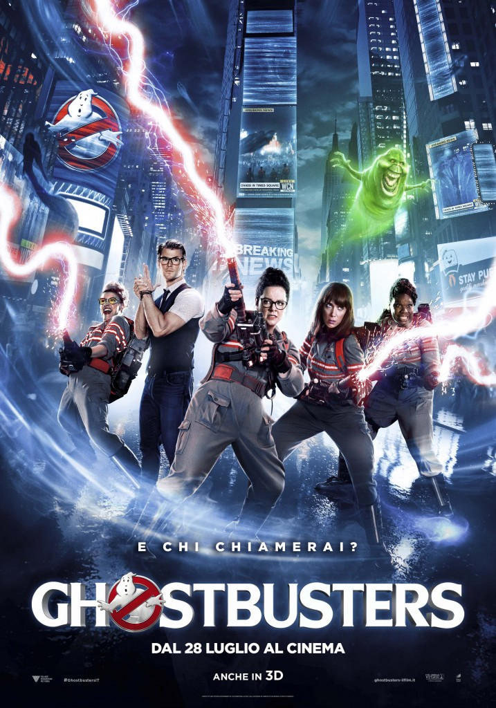 Ghostbusters movie ita poster