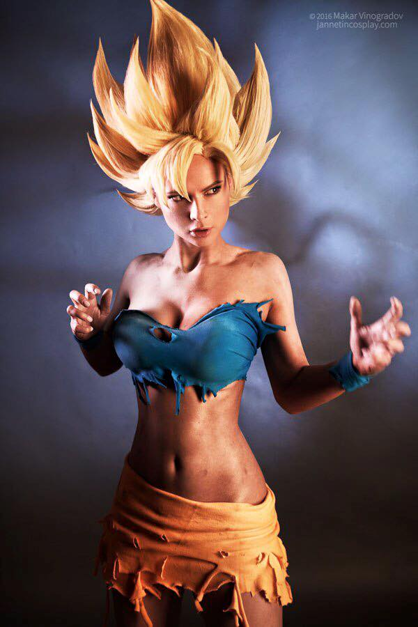 Goku Janet 2