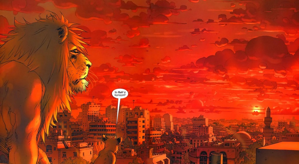 Graphic Novel L'Orgoglio-di-Baghdad-tavola-2