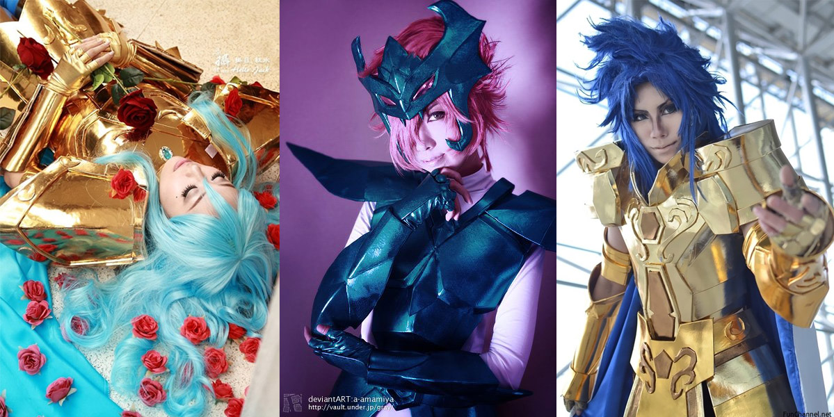 good win cosplay saint seiya