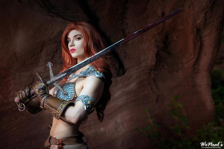 Red Sonja e la cosplayer che voleva essere un'action figure