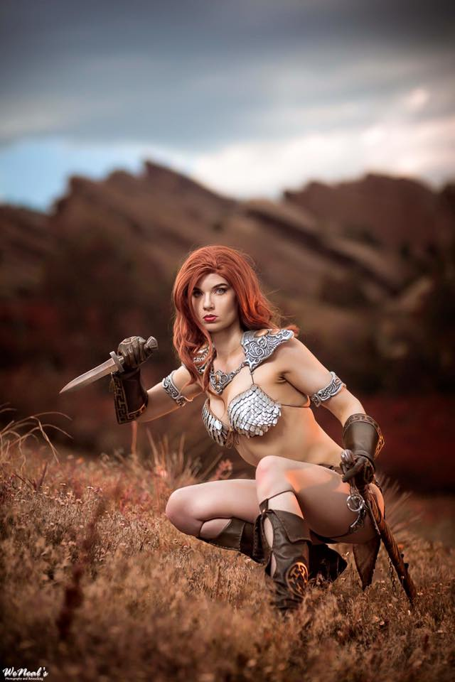 Red Sonja cosplay 6