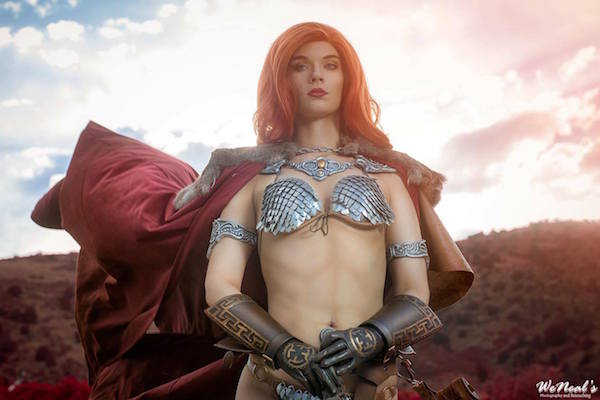 Red Sonja cosplay 5