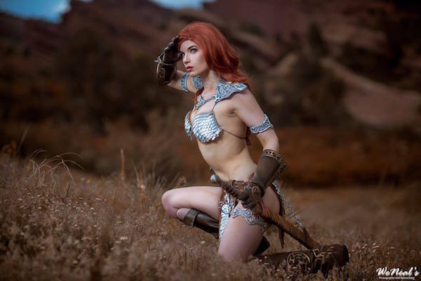 Red Sonja cosplay 1
