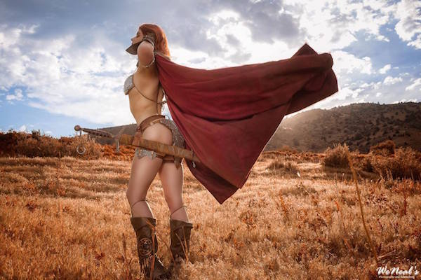 Red Sonja cosplay 4