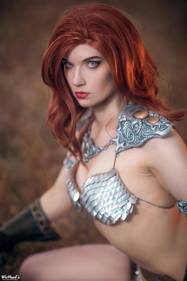 Red Sonja cosplay 3