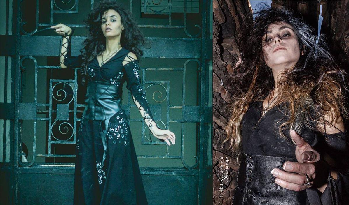 Bellatrix Cosplay make up