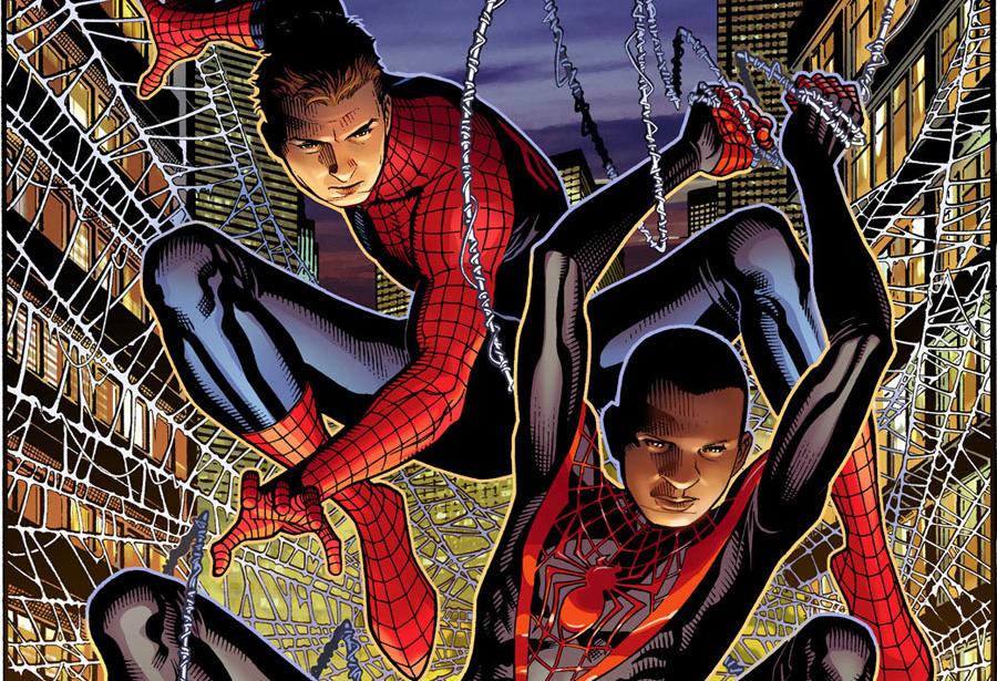 Miles Morales, l'Ultimate Spiderman, è figlio di un afro americano e di una portoricana. Per evitare confusione, è stata considerata la parte nera del Porto Rico, non quella bianca (anche J.Lo è di origini portoricane)