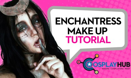 Make up tutorial: Enchantress, Suicide Squad