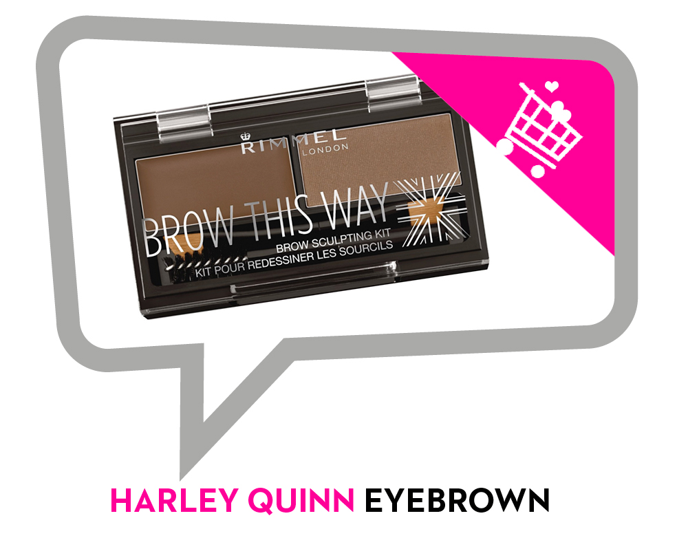 eyebrown-harley quinn