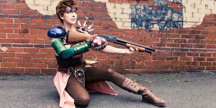 super mario peach princess mad max cosplay crossover