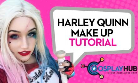 Make up tutorial: Harley Quinn, Suicide Squad