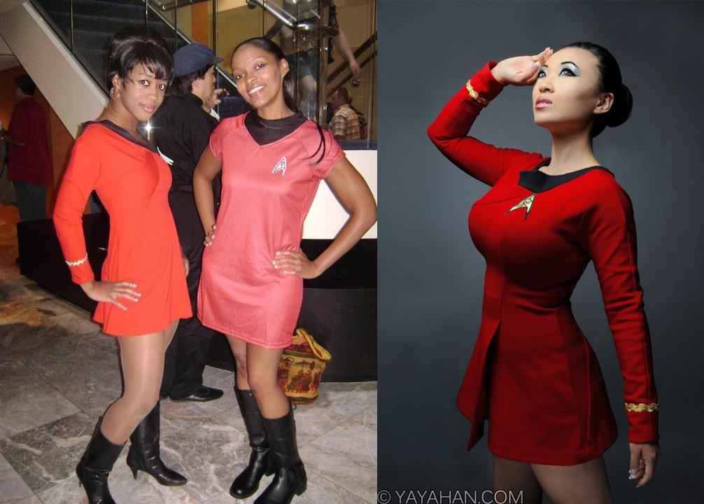 black cosplay uhura