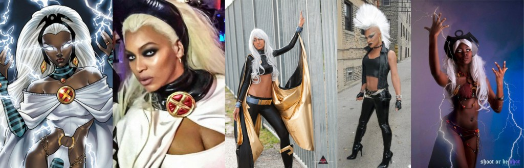 black storm cosplay