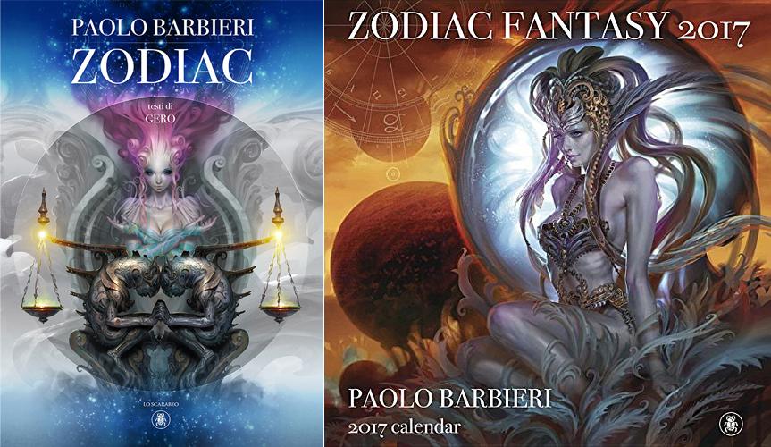 zodiac cover calendar barbieri