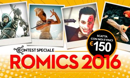 Contest Speciale Romics Autunno 2016: i vincitori