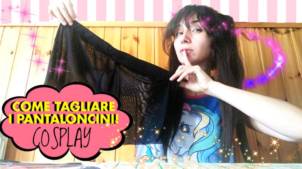 Tutorial: cucire dei pantaloncini per cosplay