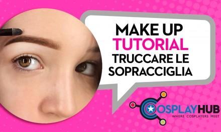 Make Up Tutorial: come truccare le sopracciglia