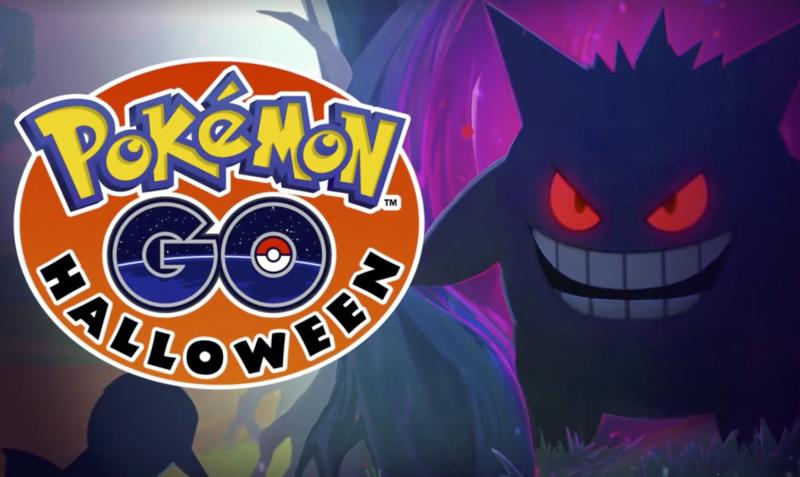 Pokémon Go festeggia Halloween