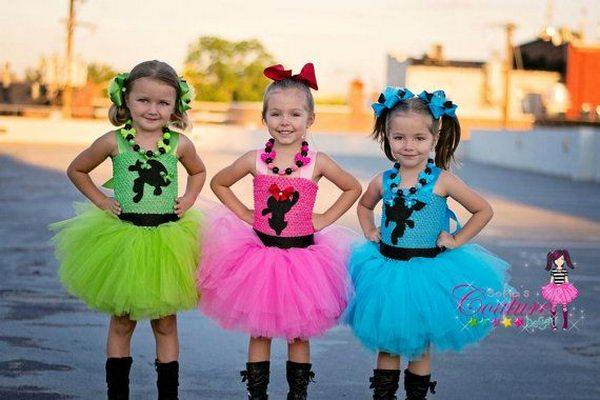 little baby superchicche cosplay powerpuff girls