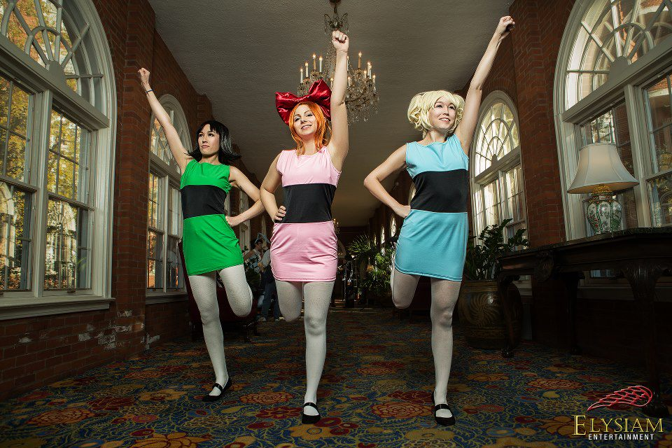 Power puff girls superchicche cosplay
