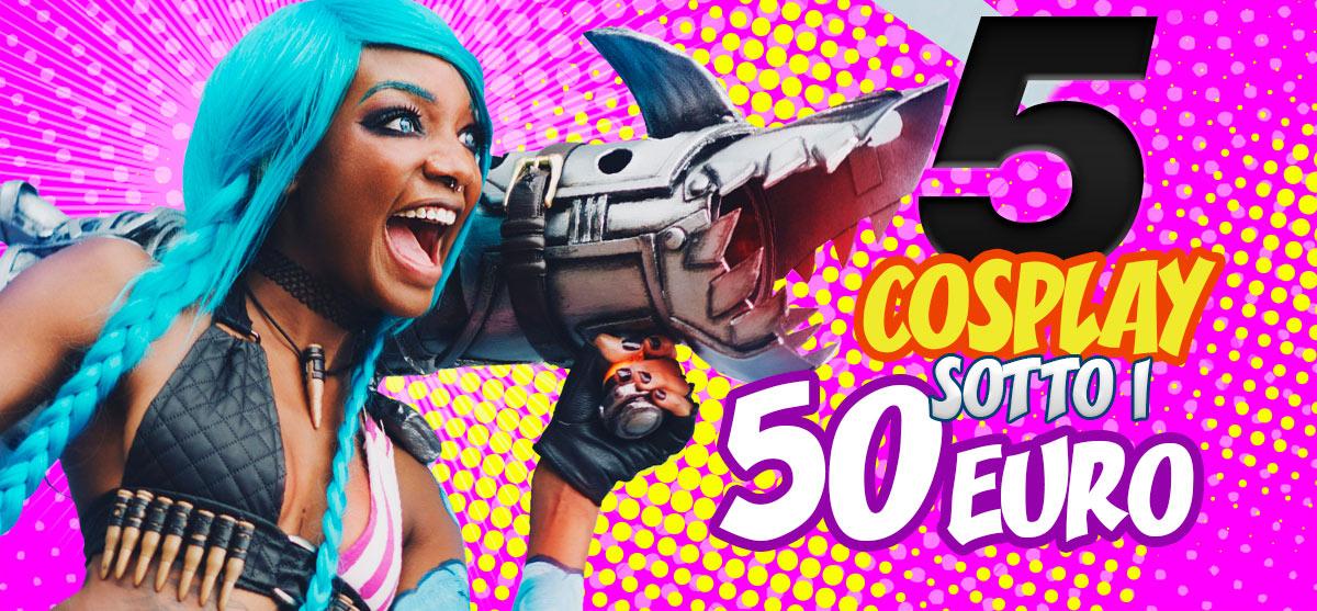 5 cosplay da realizzare con meno di 50 euro