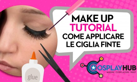 Make Up Tutorial: applicare le ciglia finte