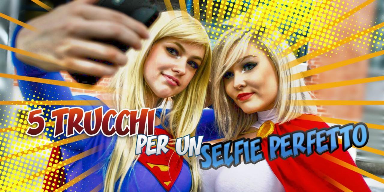 5 Trucchi per un selfie cosplay perfetto