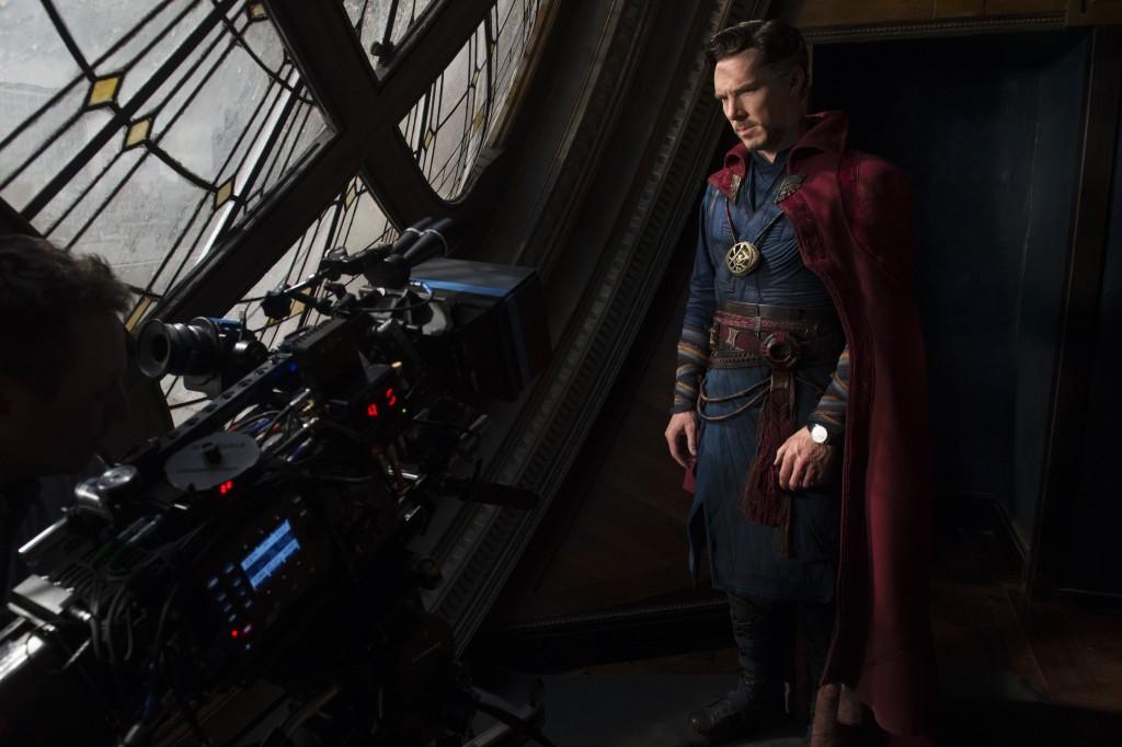 Doctor Strange set