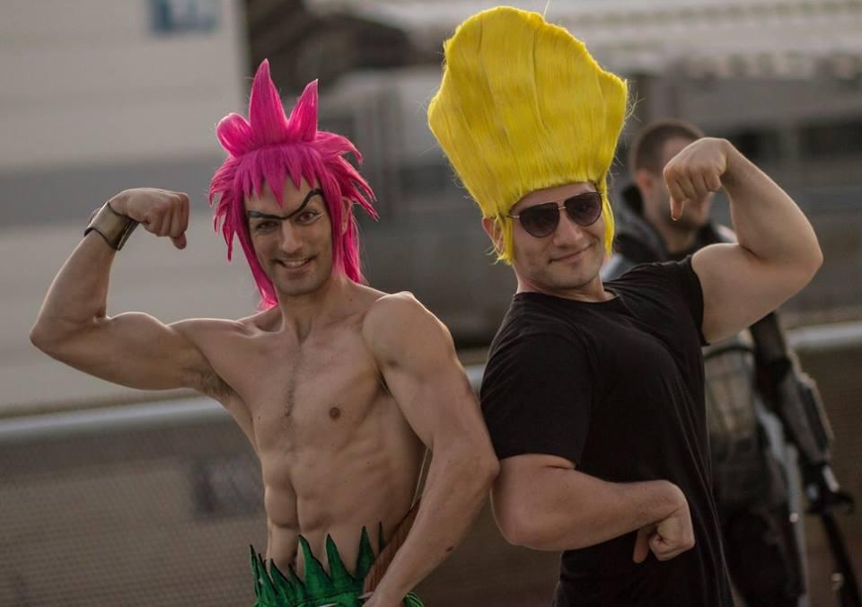 Leon Chiro e Paolo Spartano cosplay matteo-painalzak