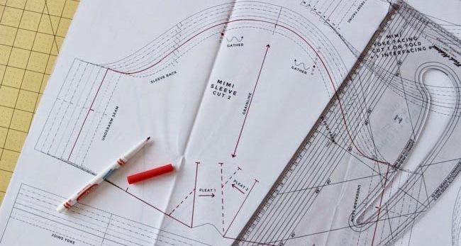 Le tecniche per ottenere i cartamodelli: la modellistica sartoriale